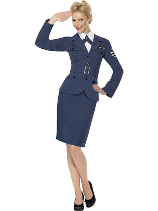 WW2 Air Force Ladies Costume AFD35527