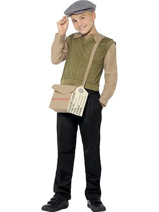Evacuee Boy Costume AFD44066
