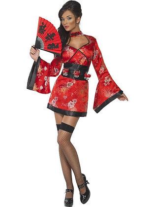 Fever Vodka Geisha Costume AFD20559