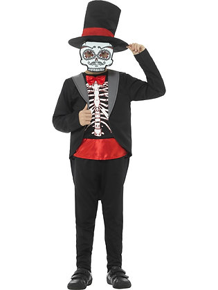 Day of the Dead Boy Costume AFD45189