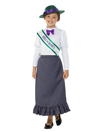 Suffragette Girl Costume AFD49697