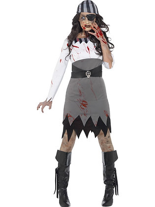 Zombie Pirate Lady Costume AFD45525