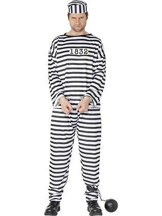 Convict Costume AFD96318