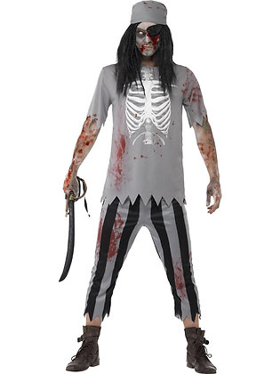 Zombie Pirate Costume AFD45957