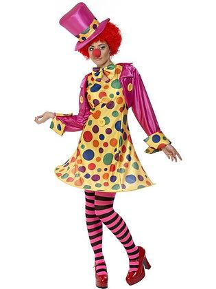 Clown Lady Costume AFD32882