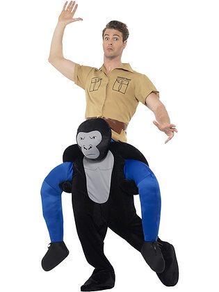 Piggy Back Gorilla Costume AFD47163