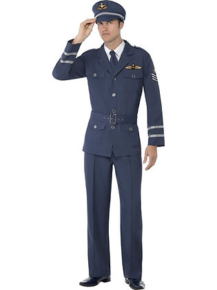 WW2 Air Force Captain AFD38830