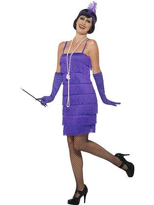 Purple Flapper Costume AFD45500