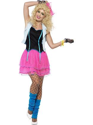 80s Wild Girl Costume AFD44447
