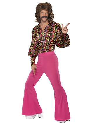 Pink Slack Suit AFD39441