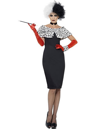 Evil Madame Costume AFD32806