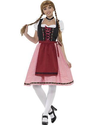 Bavarian Tavern Maid Costume AFD49668