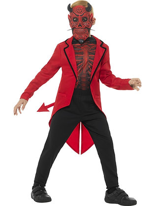 Day of the Dead Devil Costume AFD45122