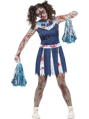 Zombie Cheerleader Costume AFD45614