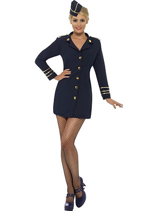 Flight Attendant Costume AFD28879