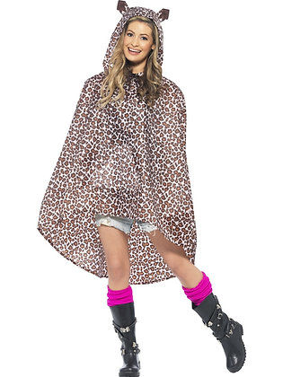 Leopard Party Poncho AFD27608