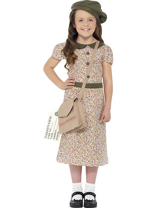 Evacuee Girl Costume AFD27533