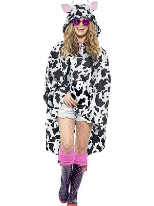 Cow Party Poncho AFD27606