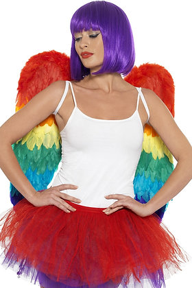 Rainbow Feather Wings AFD43585