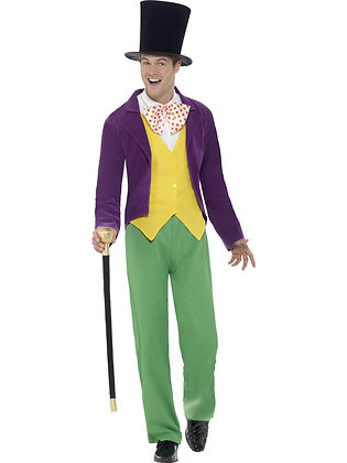 Roald Dahl Willy Wonker Costume, Adult AFD42850