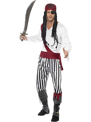 Pirate Man Costume AFD25783