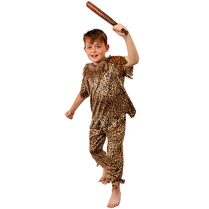 Child Cave Dweller Costume AFD7093