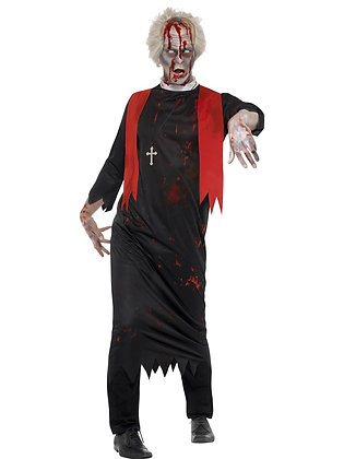 Zombie High Priest Costume AFD45526