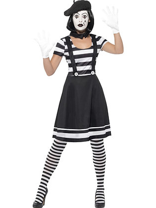 Lady Mime Artist Costume AFD24627