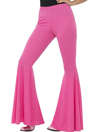 Ladies Flared Trousers, Various Colours