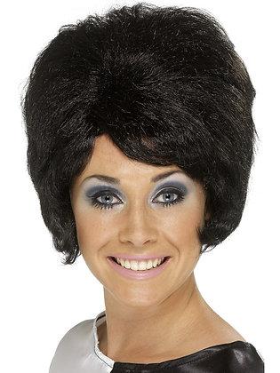 Beehive Black Wig AFD42272