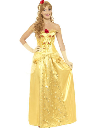 Golden Princess Costume AFD45969