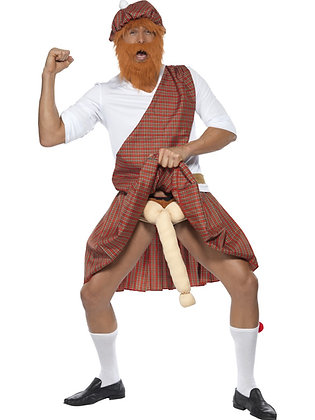Well Hung Highlander Costume AFD20358