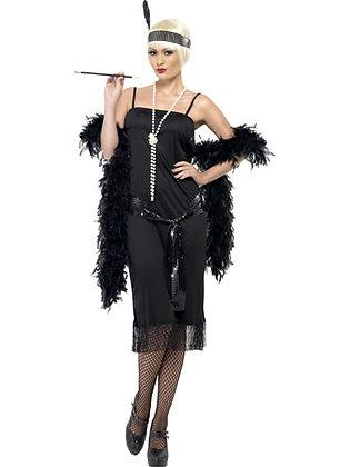 Black Flapper Costume AFD28605