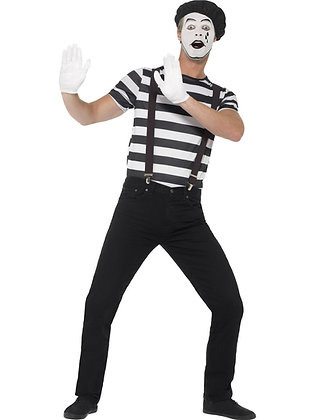 Mime Artist Costume AFD24596