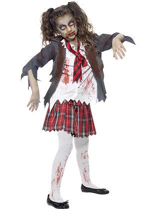 Zombie School Girl Costume AFD43025