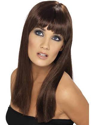 Glamourama Wig, Natural Colours
