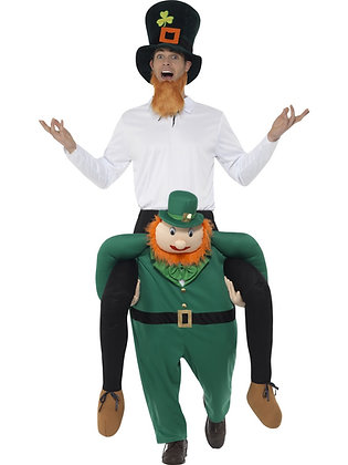 Piggy Back Leprechaun Costume AFD49670