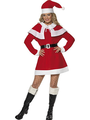 Miss Santa Fleece Costume AFD24506