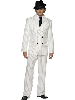 White Gangster Suit AFD31079