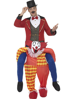 Piggy Back Clown Costume AFD47159