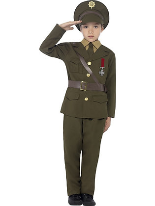 Army Officer Costume AFD27536