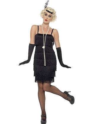Black Flapper Costume AFD45498