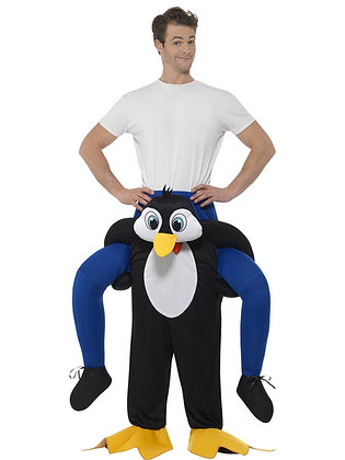 Piggy Back Penguin Costume AFD48815