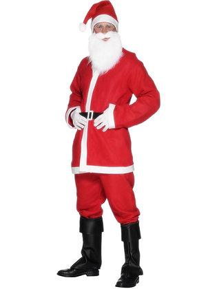 Red Santa Suit Costume AFD20841