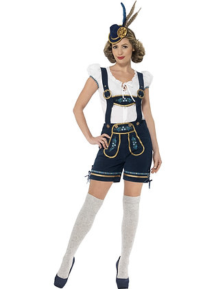Deluxe Bavarian Costume, Blue AFD45264