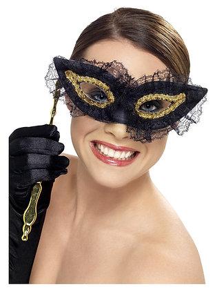 Black Lace Eye Mask AFD34908