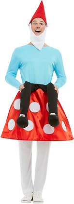 Gnome Toadstool Costume AFD50964