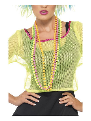 80s Neon Beads AFD25227