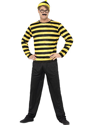 Where's Wally Odlaw Costume AFD41309