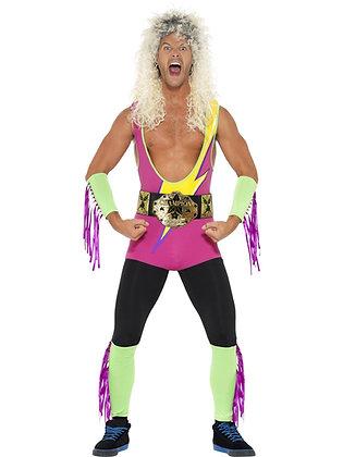 Retro Wrestler Costume AFD27561